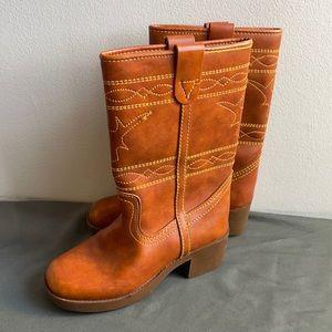 Unisex Western Boots Size 6